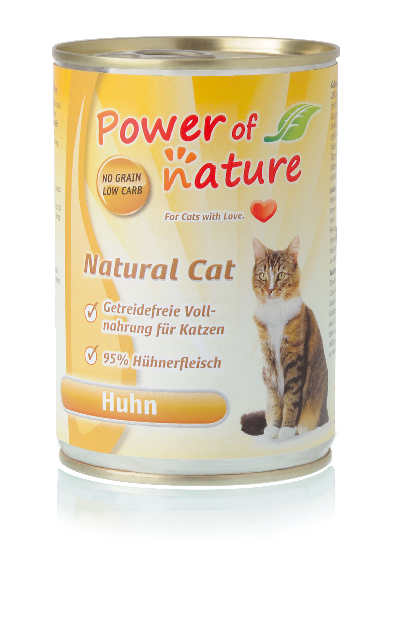 Power of Nature Natural Cat Dose Huhn 24 x 400g
