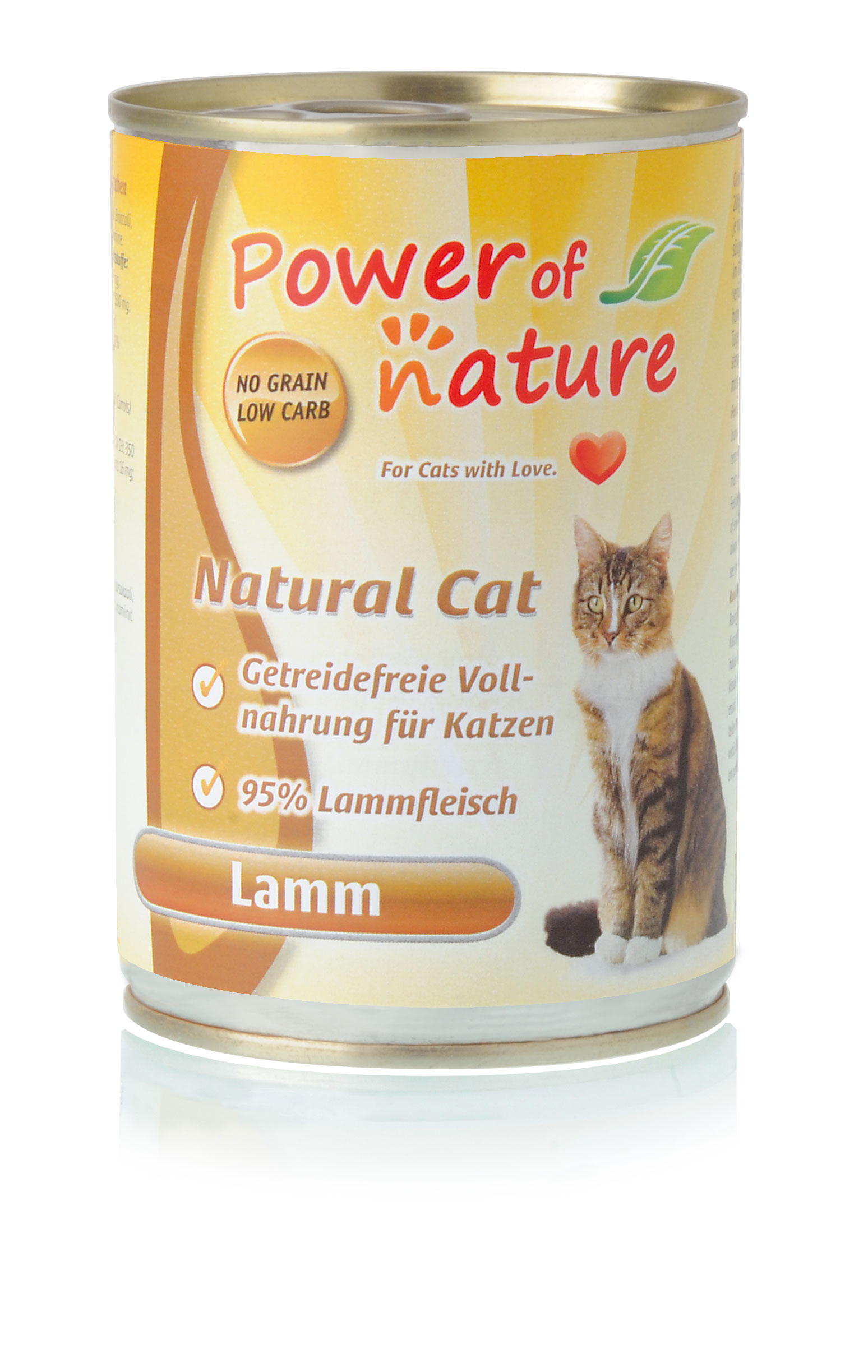 Power of Nature Natural Cat Dose Lamm 24 x 400g