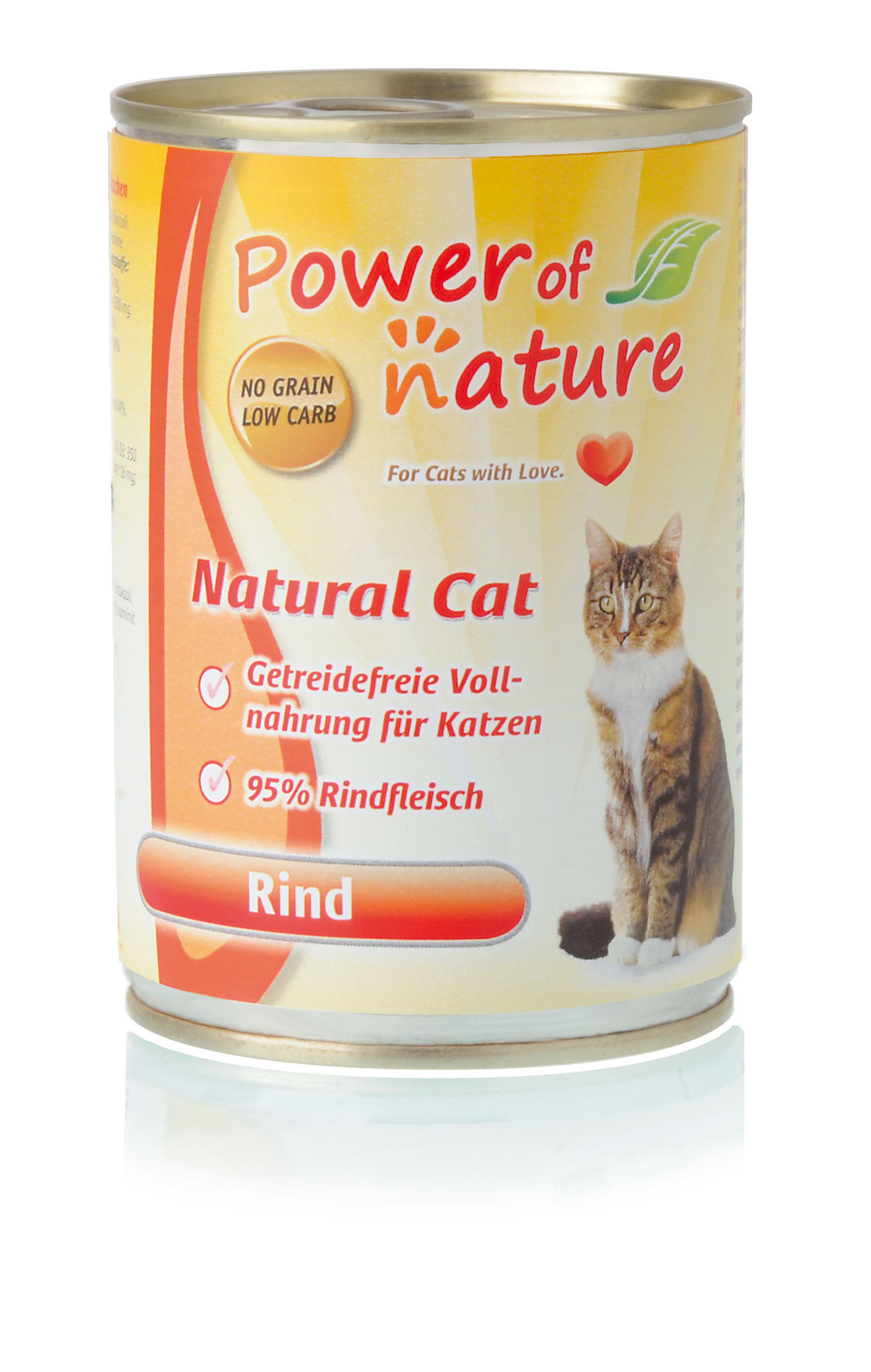 Power of Nature Natural Cat Dose Rind 24 x 400g
