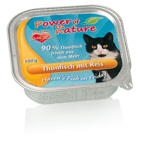 Power of Nature Haven's Fish on Friday Thunfisch mit Reis 85 g
