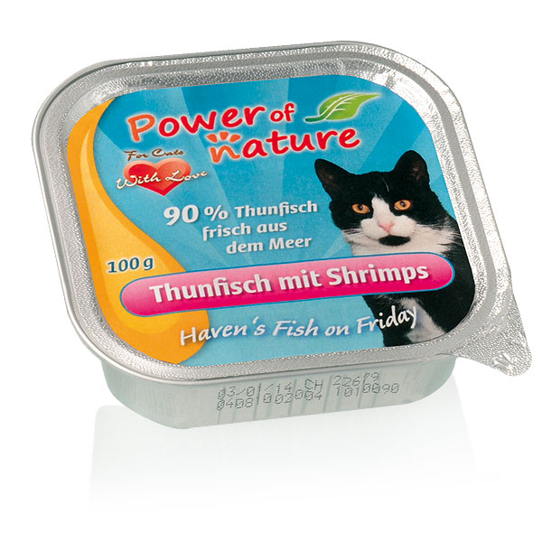Power of Nature Haven's Fish on Friday Thunfisch Shrimps 85 g