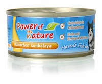 Power of Nature Haven's Fish on Friday Hühnchen Jambalaya 24 x 100g