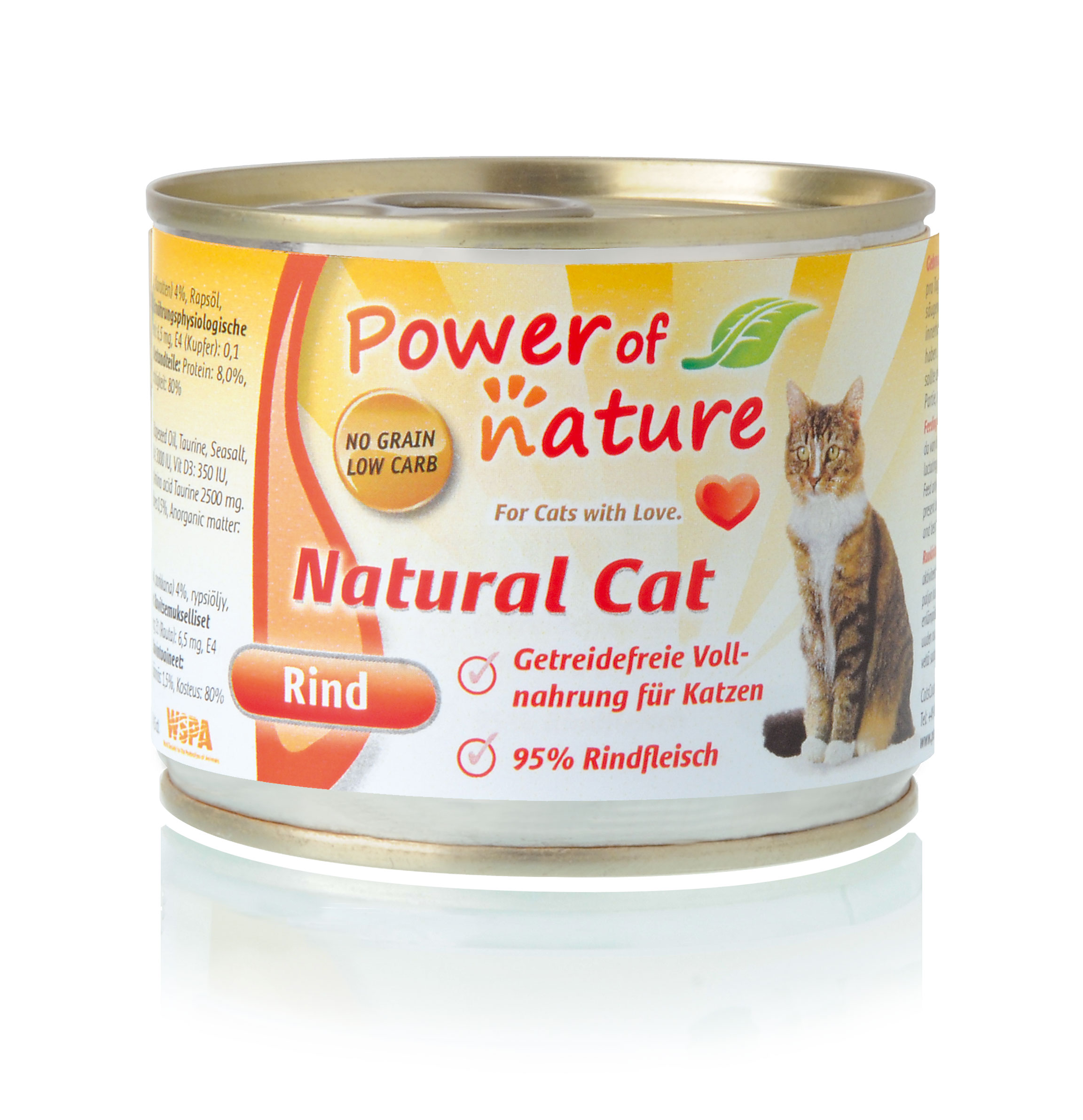 Power of Nature Natural Cat Dose Rind 24 x200g