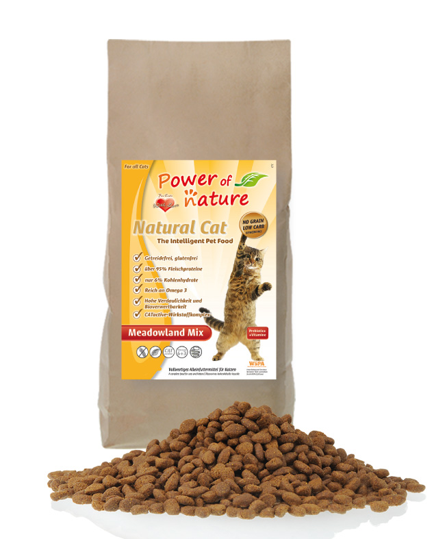 Power of Nature - Natural Cat Meadowland Mix 2Kg