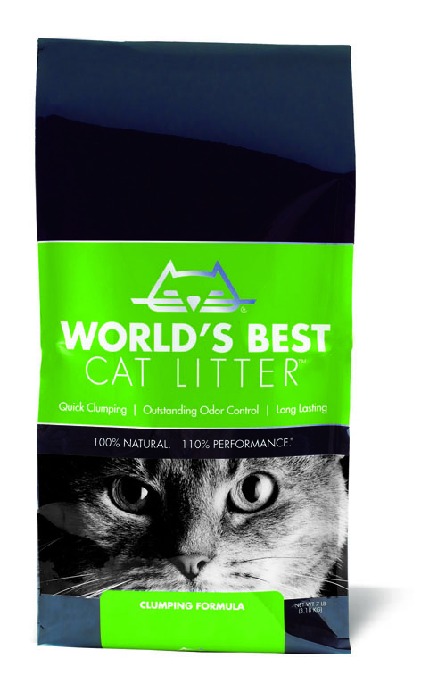 World s best Cat Litter Katzenstreu 36 x12,7 kg